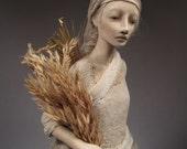 OOAK Paperclay Art Doll