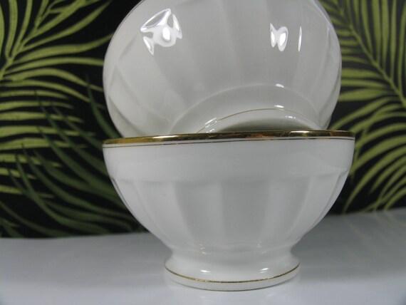 Set of four Cafe au Lait Bowls