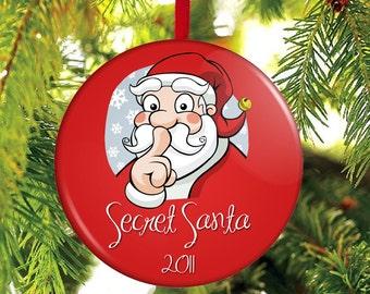 Secret Santa Gift - Christmas Ornament