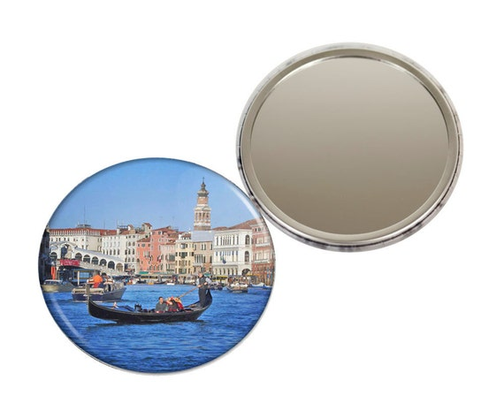 Grand Canal Venice Pocket Mirror - 3 inches