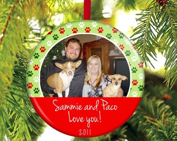 Christmas Ornament From Dogs To Groomer