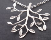 Happy Tree Necklace - with sterling silver chain