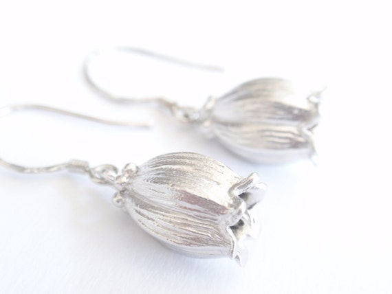 Lily Stering Silver Earring-cute,lovely gift idea