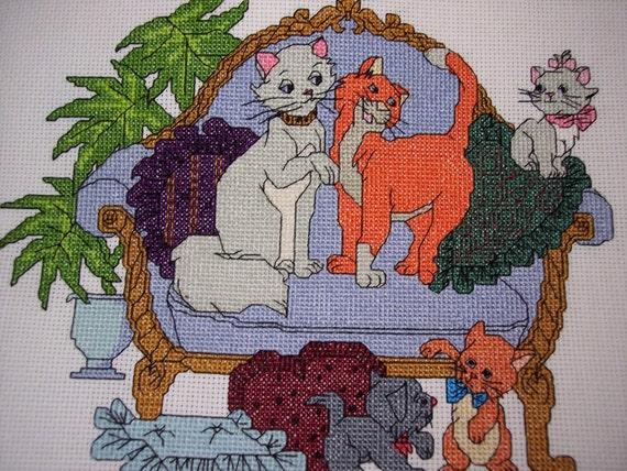 Disney Aristocats Cross Stitch