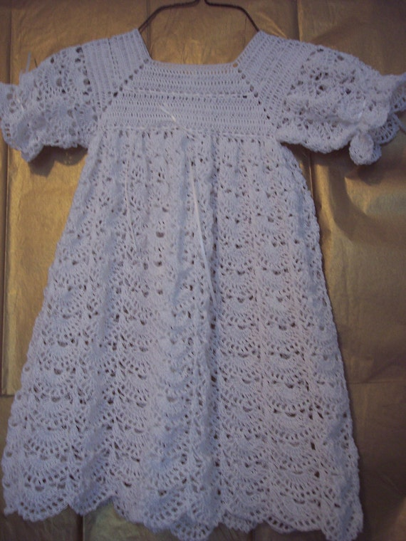 Christening Gown Set Newborn to 3 mths Ready to ship