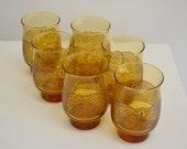 Set of Six Vintage Glasses