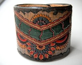 Gypsy Dancer Leather Cuff