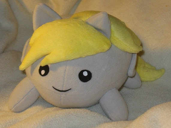 My little pony Derpy Hooves blob plush