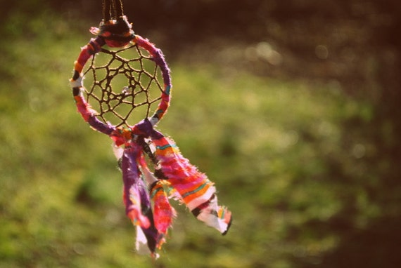 The gypsy's dream catcher necklace