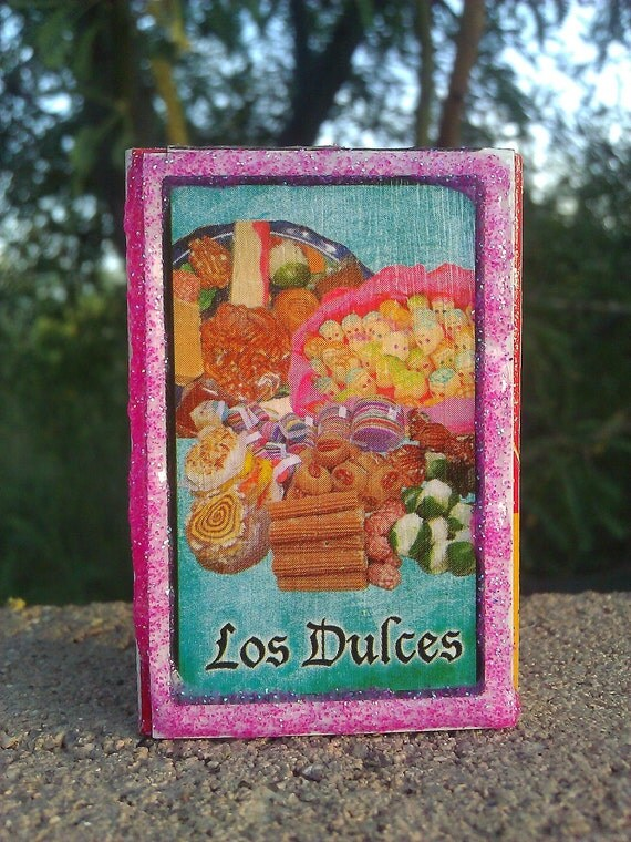 Day of the Dead Loteria Matchbox, Sweets, Los Dulces