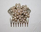 Elegant Vintage Bridal Hair Comb