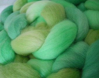 Princess and the Pea  merino roving/tops