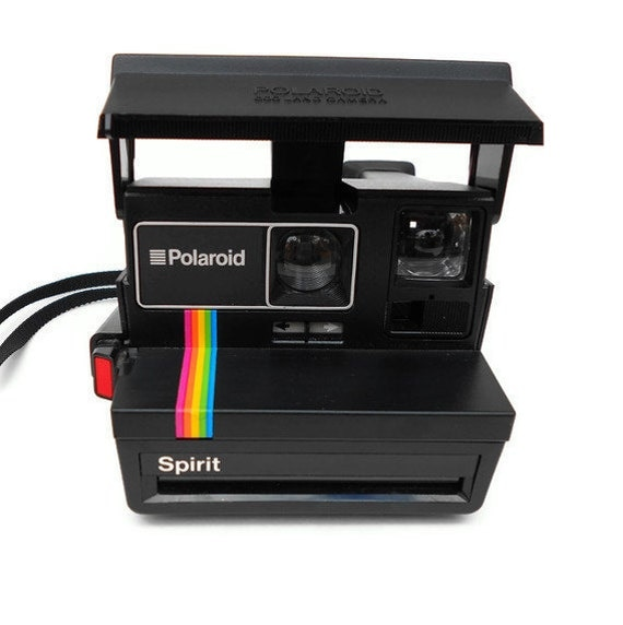 vintage polaroid camera spirit land camera 600 series. Black Bedroom Furniture Sets. Home Design Ideas