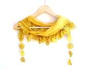 NEW LISTING Natural Cotton Scarf Adorned Fringed Guipure Scarf,Bandana,Headband,Elegant 2013 fashion