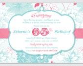 Surprise Birthday Party Invite - DIY Printable