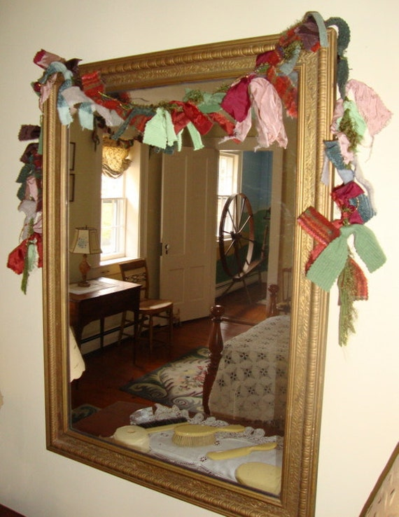 Rag Garland in Late Autumn Colors