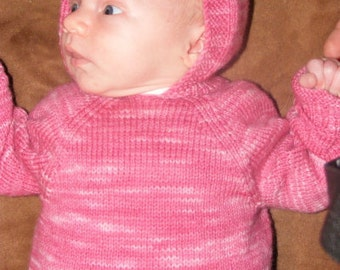 Jackie's Sweater Pattern (Baby sweater)