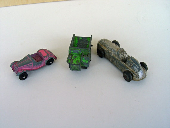 Lot of Three Vintage Toy Cars