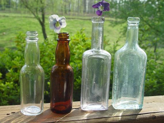 Lot Four Vintage Bottles