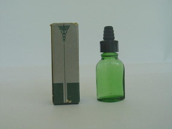 Vintage Eye Drop Bottle in Box