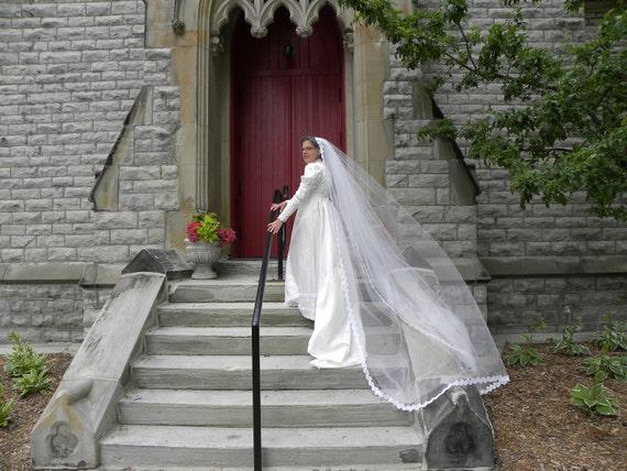 Church Length Wedding Veil