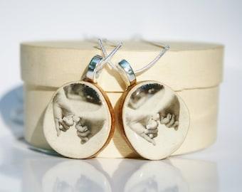 Best friend necklace set best friend jewelry matching jewelry Best friend gift sister gift  eco friendly gift friendship gift best friend