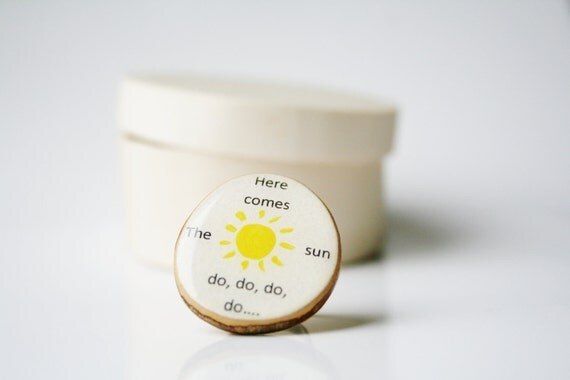 Cocktail Ring, Here comes the sun , Wood ring, nature lover gift, nature gift, eco-friendly, reclaimed wood gift