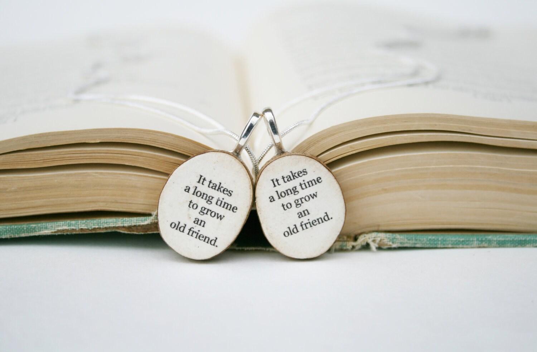 Best Friend Necklace Set Best Friend Gift By Starlightwoods
