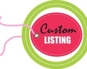 RESERVED LISTING - Jane Brown