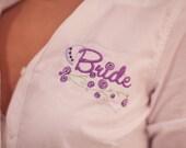 Wedding Day Bride Button Down Shirt