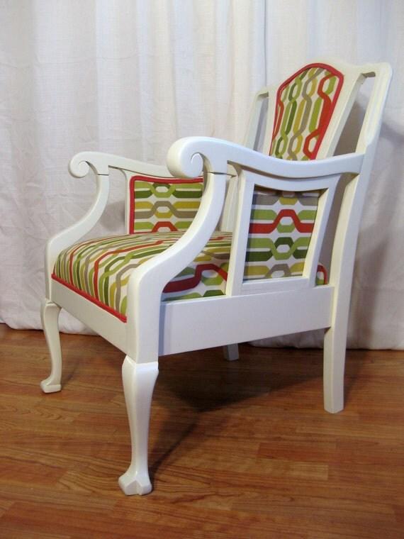 Modern Groove Vintage Chair