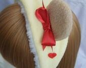 Angelic pretty honey cake inspired bear ear bonnet