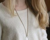 SOLD - Vintage Cut Crystal Chandelier Necklace