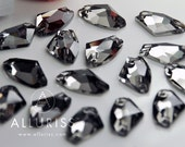 12mm x 19mm Cosmic, Black Diamond 16pcs, Crystal sew on crystal stone flatback