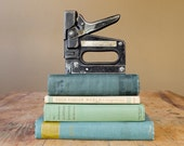 SALE / Vintage Book Collection in Seafoam