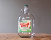 Rare Glass Ozarka Vintage 1 Gallon Water Jug