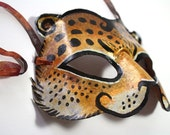 Big Cat Jaguar Mask for Halloween and Masquerade Made-to-order
