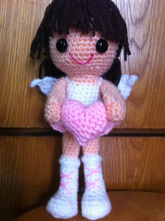 Crochet Angel Amigurumi pattern PDF pattern