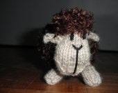 Plush Toy- Chester the fluffy knitted sheep