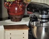 Handcrafted primitive recipe box