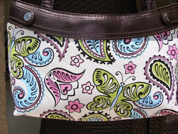 Bold butterflies Thirty One Purse Cover