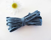 Clearance Sale Paper Raffia Blue  5 Yards