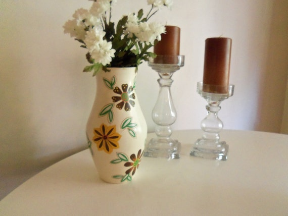 Vintage Vase Mid-60's Mod. Brentleigh Ware. Made In England