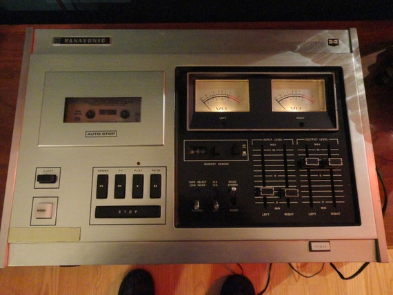 Vintage Panasonic Stereo RS-275US Cassette Player