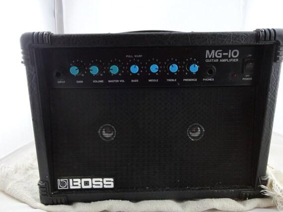 1980's Roland Boss MG-10 Guitar Amplifier