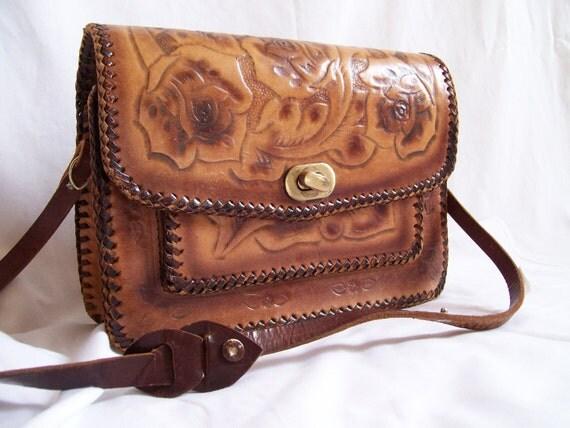 Vintage Purse Leather 1970