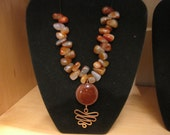 Carnelian and Copper Necklace