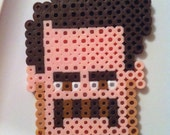 Made to Order - Ron Swanson Perler Bead Magnet