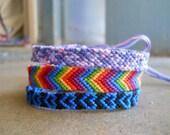 Blue Heart Friendship Bracelet