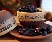 Coffee Peruvian Organic Mountain Shade Grown Fair Trade Fresh Roasted Coffee Beans 12 ounces